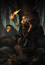 Elf Beast Master and Lion