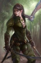 The elf is the usual choice when building a ranger