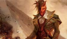 Art of the devilish planeswalker who loves to torture the multiverse