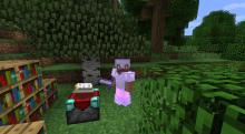 Enchanting weaker sets of armor makes them even more useful and protective!