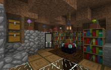 Create a custom enchantment room to make enchanting a priority.