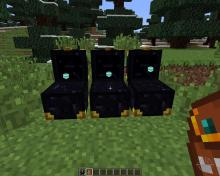 A set of linked ender chests