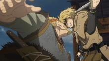 Thorfinn in no way lacks hatred.