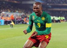 This man is one of the kings of Cameroonian football.