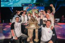 eUnited world champions of SMITE 2018