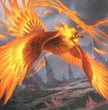 Blazing bird of Ikoria