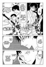 Watanuki grows accustomed to dealing with supernatural creatures after spending a lot of time in Yuuko's shop.
