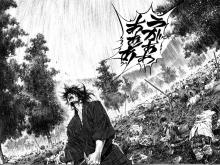 Musashi is given a chance at a new life after barely escaping a battle alive.