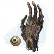 The Eye and Hand of Vecna are evil items of immense power. The (probably) last vestiges of the powerful Lich lord.