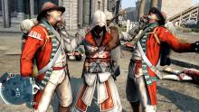 In AC 3 you can use real money to purchase Ezio's costume and use it in-game