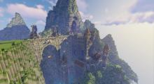This fortress was carved into the very stone, and it looks as impenetrable as it does beautiful