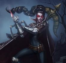 Vayne had a visual update and looked very different a few years ago.