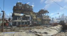 Fallout 4's new settlement system allows players to build just about any type of settlement they want