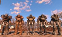 Some of the power armor you can find in Fallout 4, each with their own style and stats