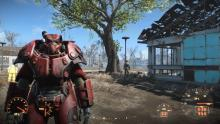 Fallout 4's Power armor looks like Baymax.