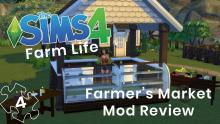 <The SIms 4>-<Farmers Market Mod>