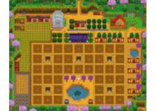 A farm layout that focuses on that profession.