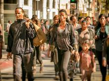 LA survivors on Fear The Walking Dead.