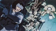 Major Makoto confronts danger in a cyberpunk world.