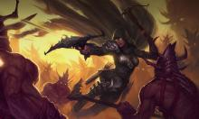 The Demon Hunter is known for their agility in movement around the battlefield.