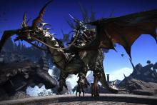 Chocobos aren't the only ride around the map. From dragons to giant cats, there's a lot of variety to be had.