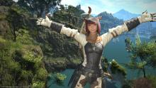 Despite not making the cut, this FF14 Archer is having fun.