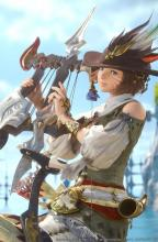 Official art for the Bard class, unlocked by reaching level 30 Archer