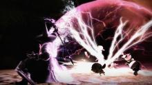 Prime example of how a black Mage makes enemies go boom!