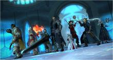 Getting the crew together in the Crystarium makes for some awesome shots.
