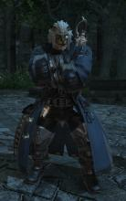 Radovan is your Gunbreaker quest giver