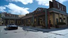The exterior of Three Z's Motel