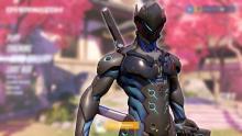 Genji in his carbon fiber skin