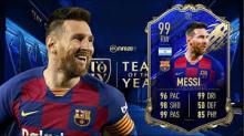 Lionel Messi. TOTY. No further comment.