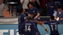 Eden Hazard scores and celebrates in FIFA 18