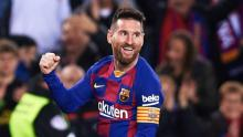 Messi is very happy to be the best FIFA 20 player.
