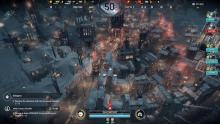 A city in Frostpunk attempts to survive temperatures of -50c