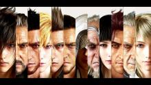 The main characters of FFXV