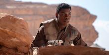 Finn as he appears in The Rise of Skywalker