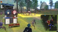 A battle between the three houses