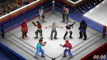 Only in Fire Pro Wrestling World will you see matches that involve the likes of Bane, Deadpool, Mario, and a gorilla.