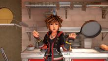 Remy makes Sora cook for the first time