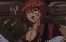 Kenshin and Karou meet for the first time, perhaps his days as a wanderer will soon end.