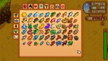 In the player menu, players can check the fish that they have already caught or need to catch. This photo is of a completed fishing list!