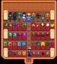 Through a trophy mod, this player has created a fish (and other items) museum in a shed! How cool!