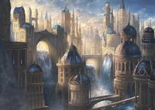 The streets of ravnica sometimes run with water.