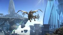 Soar through the sky with unique mounts in search of Gil and treasure.