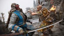 True to Ubisofts pedigree, For Honor is a visual masterpiece, here you see two warriors from vastly different cultures squaring of in glorius high fidelity.