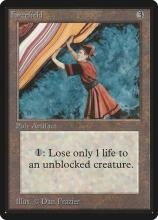 This peculiar magic card only sees some play but can be priced in the thousands.