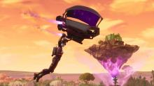 Descend into darkness with this animated glider.
