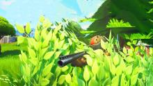 Hide in bushes and prey on your enemies